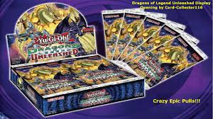 Orichalcos Deck Legacy Of The Duelist by Yugioh Dragons Of Legend Unleashed Booster Display Opening Epic