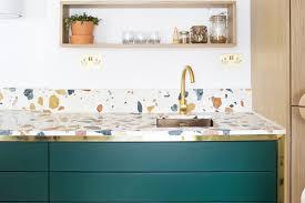 Terrazzo Inspiration Via Golden Pine