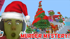 Whoville Christmas Tree by Grinch Who Murdered Christmas Whoville Murder Mystery