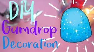 Gumdrop Christmas Tree Decorations by Diy Gumdrop Decoration Make It Youtube