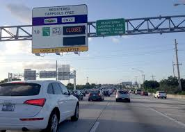 100 595 Truck Stop Closed Signs Dont South Florida Drivers From Using 95 Express