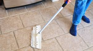 best way to clean textured ceramic tile