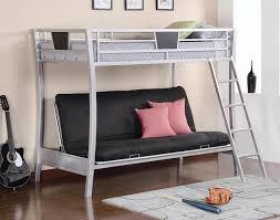 larkin twin over futon bunk bed