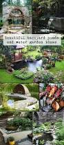 Aquascape Patio Pond Canada by Who Doesn U0027t Want The Perfect Backyard Backyard Patios And