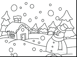 Coloring Pages Fantastic Winter Snow Buddies Free Printable Snowman Page