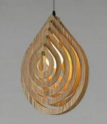 Laser Cut Lamp Dxf by Dxf Plans Downloads Lamp Water Drop Iluminação Estilo