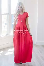 poppy red maxi modest pockets best and affordable modest