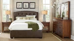 Urban Plains Brown 5 Pc King Upholstered Bedroom King Bedroom
