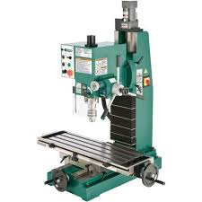 HeavyDuty Benchtop MillDrill With VariableSpeed Head Grizzly
