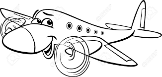 funny airplane clipart