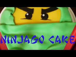 lego ninjago cake torte dekorieren backen mit fondant kuchen