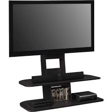 Ameriwood Media Dresser 37 Inch by Tv Stands Modern Black Tone Media Stand With Mounted Flat Screen