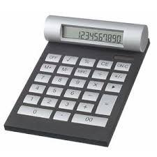 article de bureau article de bureau publicitaire calculatrice grande calculatrice