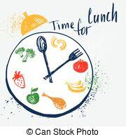 Time For Lunch Design Element Advertising Cafe Restaurant