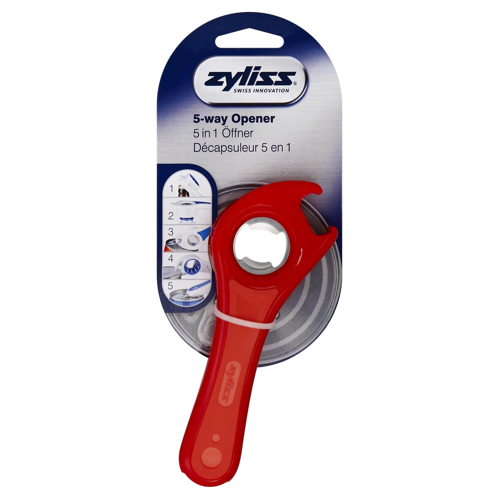 Zyliss 5 In 1 All Purpose Opener