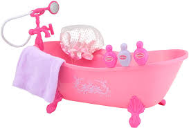 Baby Doll Bath Time Pretend Play How To Bath A Baby Doll Playset