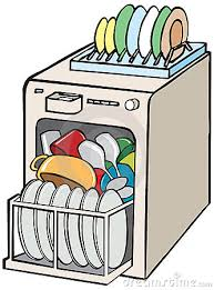 Empty Dishwasher Clipart 1