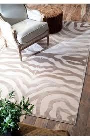 Zebra Print Rug In Living Room Appealhome