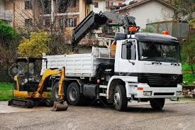 100 Truck Mounted Cranes A Compact Mini Hydraulic Excavator With A Rotating House Platform