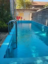 pool out of shipping container