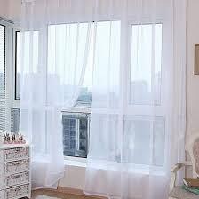 urijk transparent gardinen einfarbig bloß gardinen hochzeit