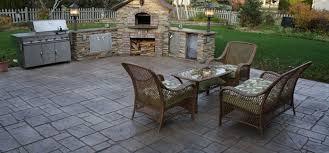 concrete patio appleton wi sted concrete patio mchugh s decorative concrete