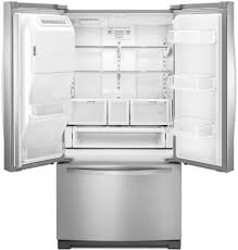 Whirlpool Refrigerator Leaking Water On Floor by Whirlpool Wrf767sdem 36 Inch French Door Refrigerator With 27 Cu