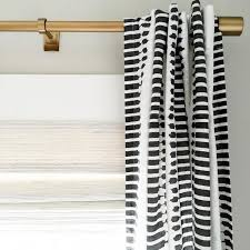 great modern curtain rod at a great price point by westelm in