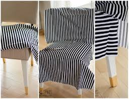 Karlstad Chair Cover Pattern by Black White And Gold Slip Covered Chair Best Of Diy Sew A