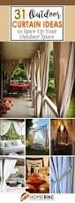 Vinyl Patio Curtains Outdoor by Best 25 Outdoor Curtains Ideas On Pinterest Patio Curtains