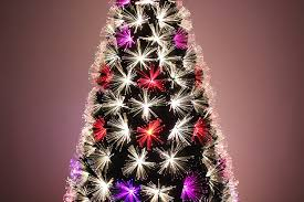 Black Fiber Optic Christmas Tree 7ft by Amazon Com Led Fiber Optic Christmas Tree 7ft Home U0026 Kitchen