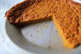 Crustless Pumpkin Pie by Crustless Skinny Pumpkin Pie Fit Kat By Katrina Bowden