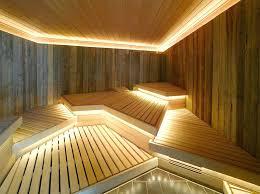 Home Spa Design Modern Rustic Ambient Lighting Sauna Steam Room Best Ideas