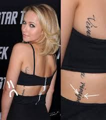 20 Famous Female Celebrity Tattoos And Meanings