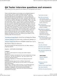 QA Tester Resume | Selenium (Software) | Software Testing