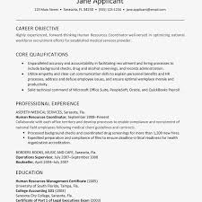 Human Resources Resume Example And Writing Tips