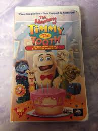 Timmy the Tooth Operation Secret Birthday Surprise VHS Clamshell