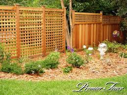 Decorative Garden Fence Home Depot by Best 25 Lattice Fence Panels Ideas On Pinterest Fence With