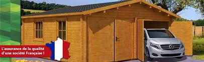 abris chalet maison et garage en bois