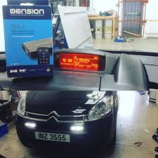 100 Running Lights For Trucks Citreon Berlingo Fitted With DENSION DAB Radio Extension And Daytime