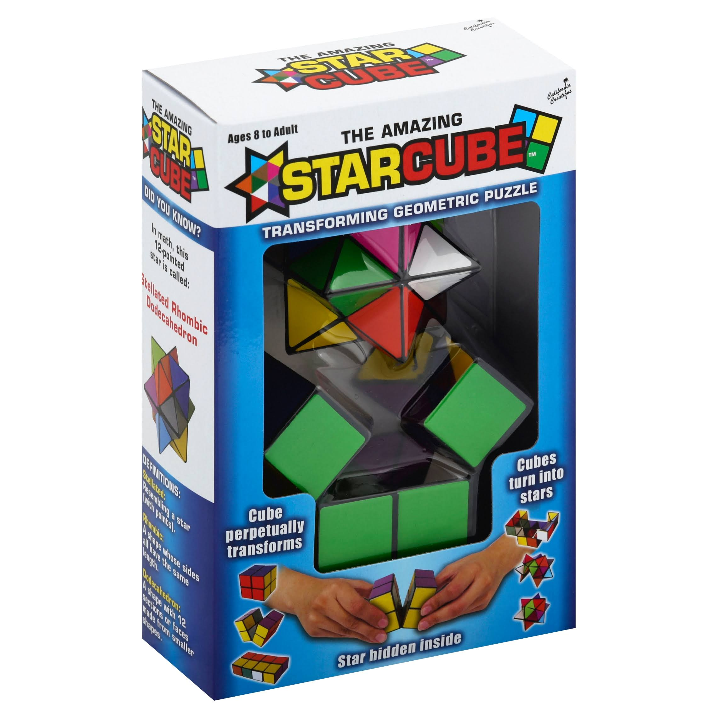 The Amazing Starcube Transforming Geometric Puzzle