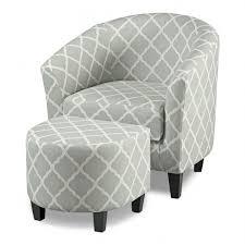 burke armless upholstered slipper chair aegean blueyellow intended