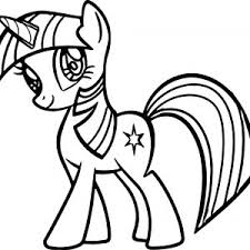 Alicorn Coloring Pages Save Unique My Little Pony Princess Twilight Sparkle