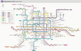 Beijing Subway Metro System with Map Lines Ticket Price