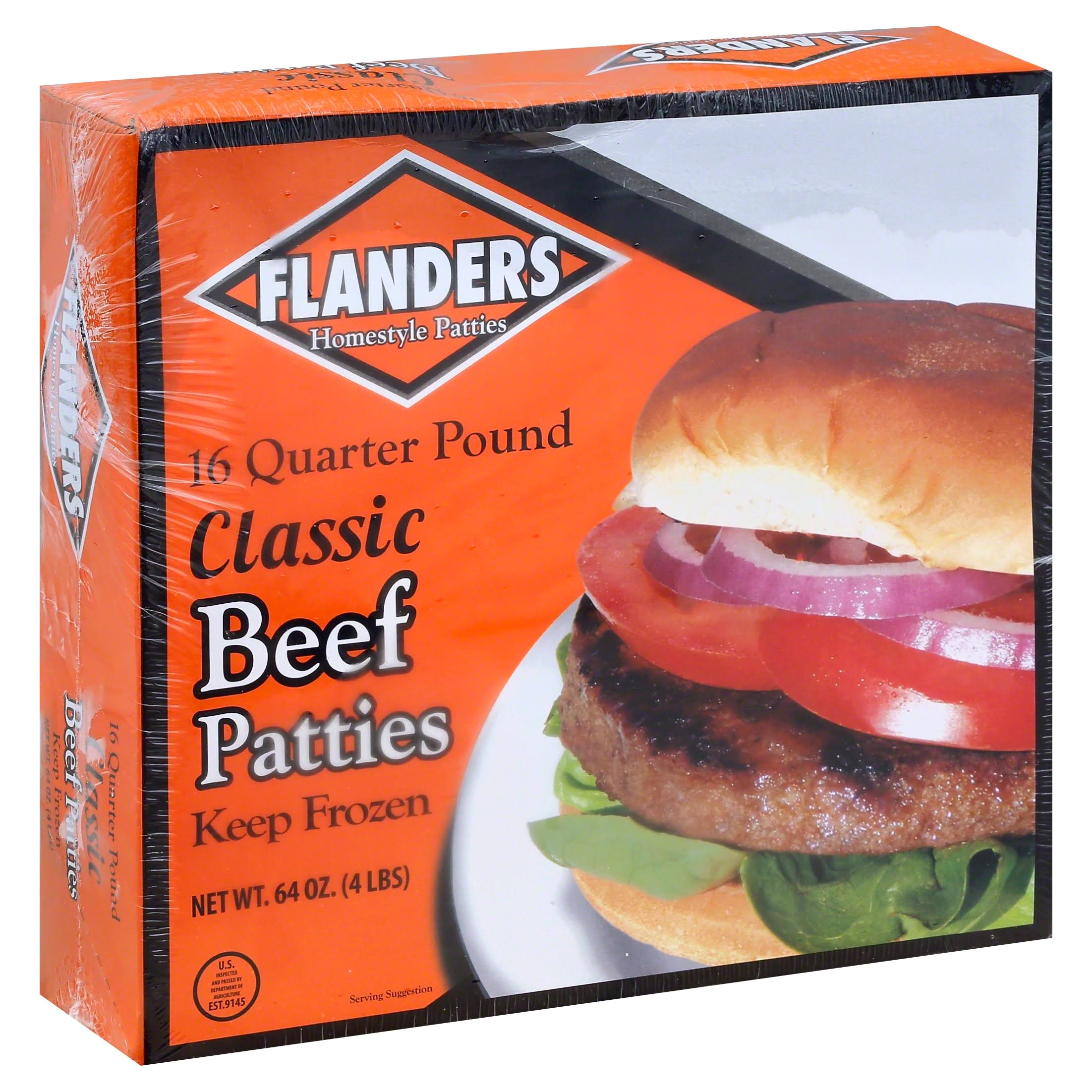 Flanders Beef Patties