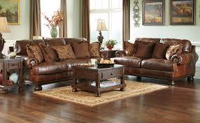 Ashley Leather Sofa Indeliblepieces