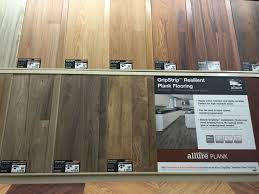 Resilient Channel Ceiling Home Depot by 2 09 Sq Ft Home Depot Allure Plank Grip Strip Maple Blond