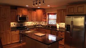 wall unit lighting mounted and cabinet lights with smoked