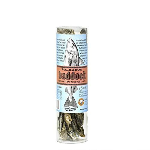 Polka Dog Bakery Haddock Skins All Natural Dog Treats Tube - 2oz