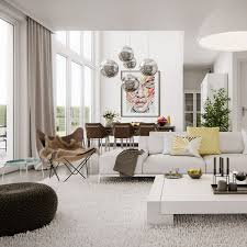 Stunning Contemporary Living Dining Room Design Agreeable